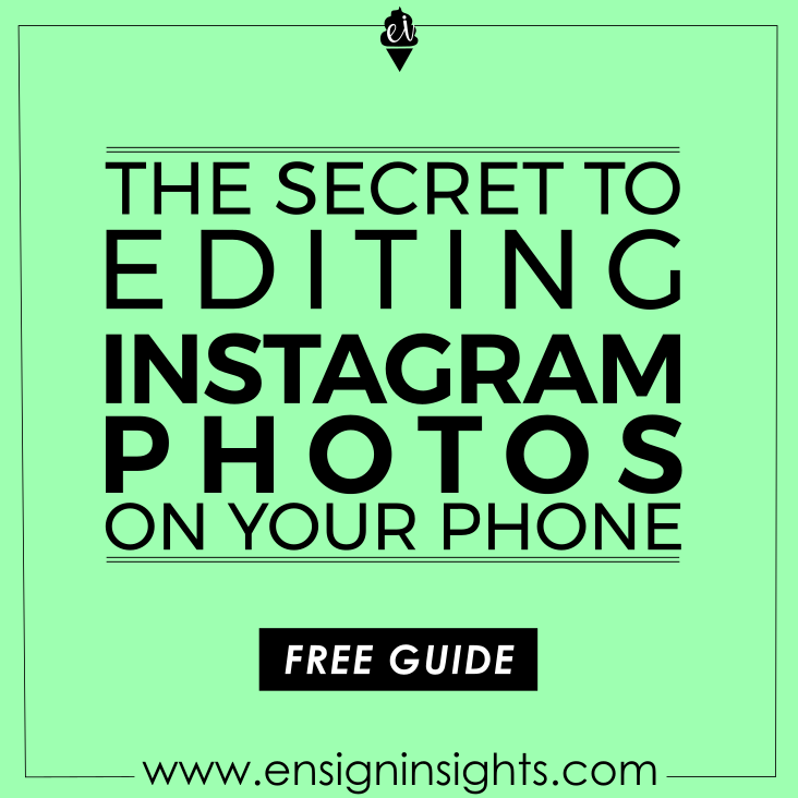 editing instagram photos on your phone